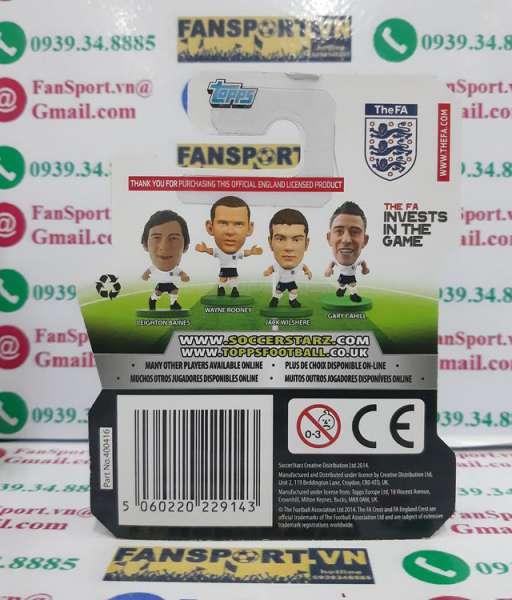 Tượng Phil Jones 15 England 2012 2013 2014 home soccerstarz figure