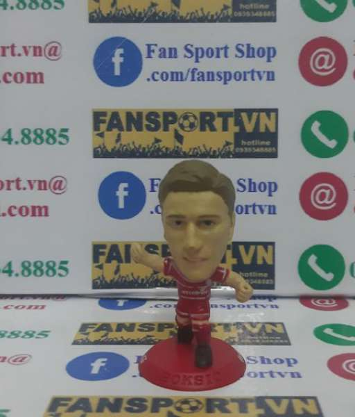 Tượng Alen Boksic 11 Middlesbrough 2001 2002 home microstar CCWC14 red