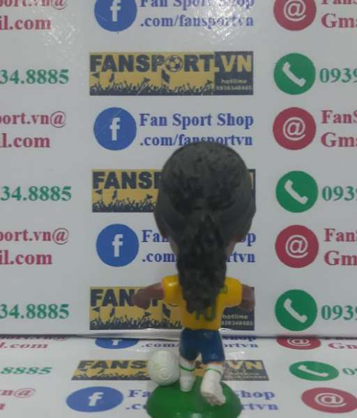 Tượng Ronaldinho 10 Brazil 2010 2011 home kodoto ball figure yellow