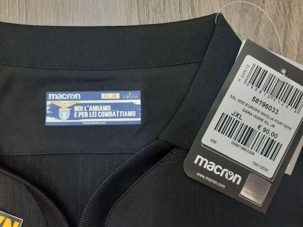 Box áo Lazio 2020-2021 Champion League home shirt jersey goalkeeper GK