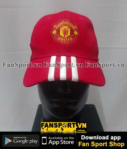 Nón Manchester United 2016 2017 home red cap Adidas S94969