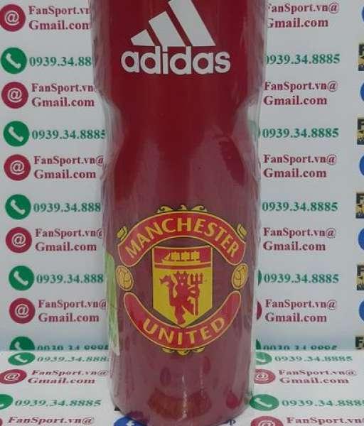 Bình nước Manchester United 2021 2021 red water bottle GU006 750 ml