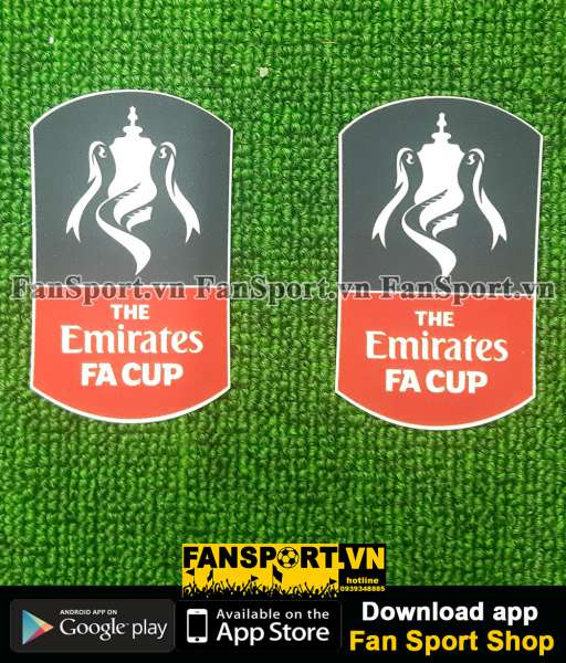 Patch FA Cup Emirates 2015 2016 2017 2018 2019 2020 official badge