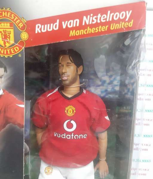 Tượng Nistelrooy Manchester United 2004-2006 home Kick-O-Mania figures