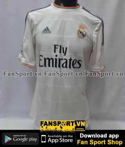 Áo đấu Real Madrid 2013*2014 home shirt jersey white Z29356 Adidas