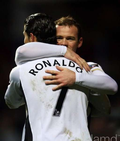 Nameset Ronaldo 7 Manchester United Premier League 2007 2008 black