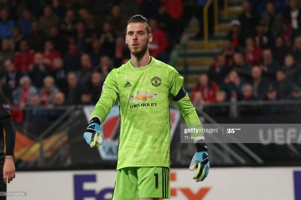 Áo thủ môn Mancheater United 2019-2020 third shirt goalkeeper green GK