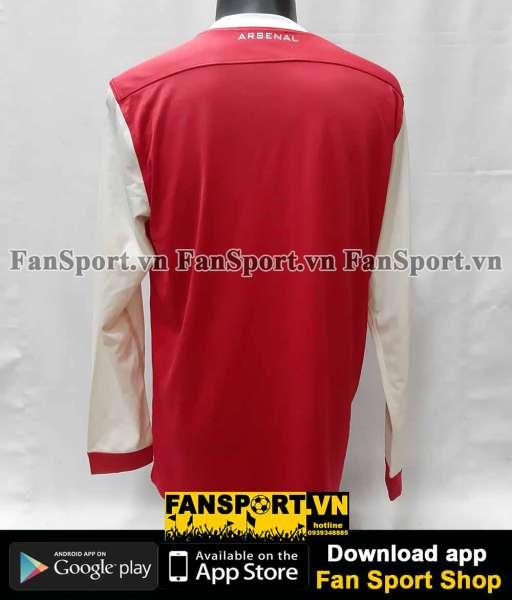 Áo đấu Arsenal 2010-2011 home shirt jersey red long sleeves