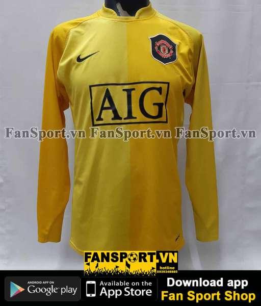 Áo thủ môn Manchester United 2006-2007 home yellow goalkeeper GK shirt
