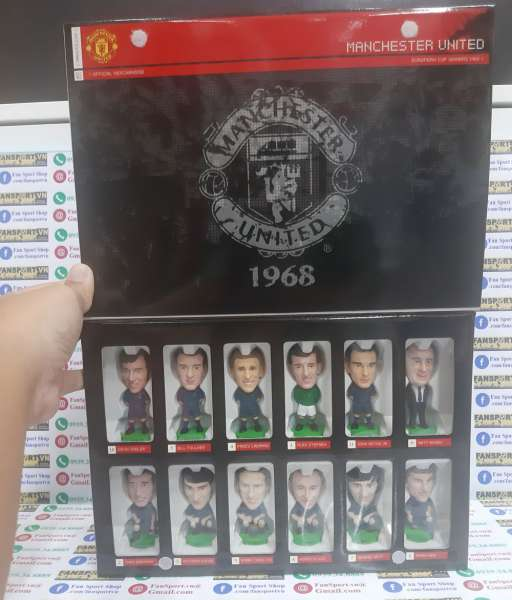 Box Manchester United Champion League Winner 1968 Fan Favorite limited
