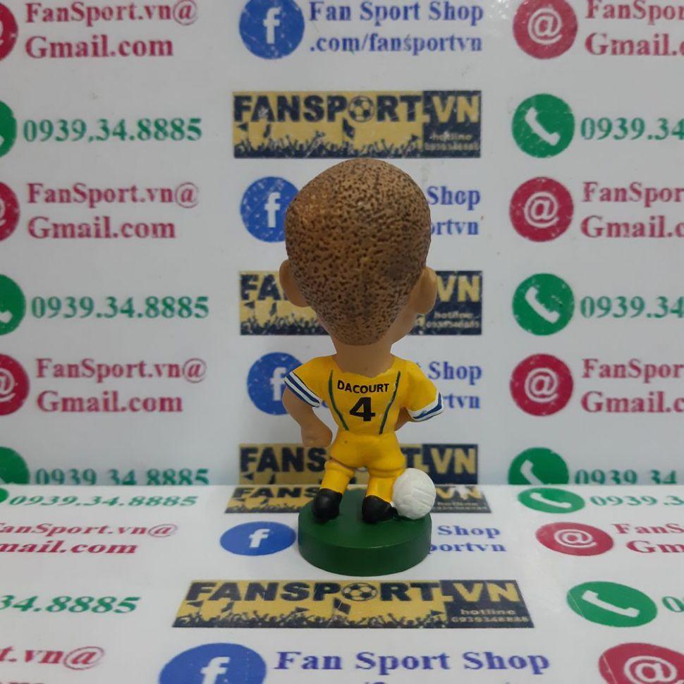 Tượng Dacourt 4 Leeds United 2002 2003 2004 away corinthian PRO360