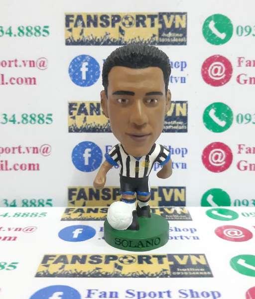 Tượng Solano 15 Newcastle United 1999 2000 home corinthian PRO227
