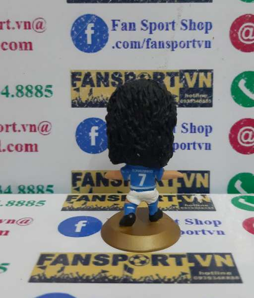 Tượng Ronaldinho 7 Brazil 2002 2003 2004 away microstar MC2667