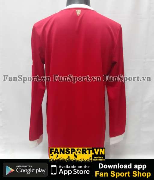 Áo đấu Manchester United 2021 2022 home shirt long jersey L red GR3779