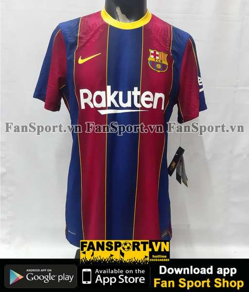 Box áo Messi 10 Barcelona 2020 2021 home shirt jersey Authentic Vapor