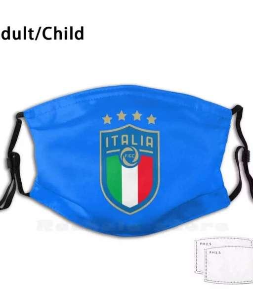 Khẩu trang logo đội tuyển bóng đá Italy