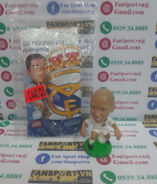 Tượng Roberto Carlos 3 Real Madrid 1999 2000 home figure target