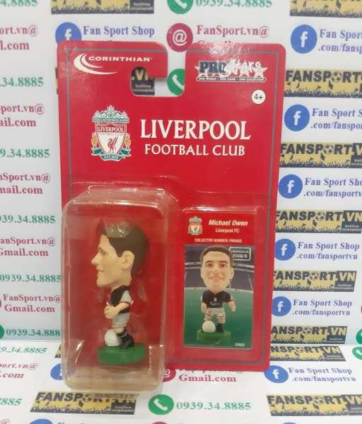 Tượng Michael Owen 10 Liverpool 2002 2003 away corinthian PRO682