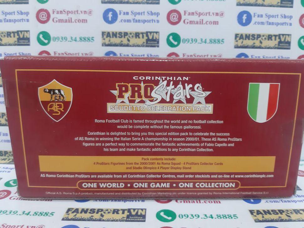 Box AS Roma 2000 2001 corinthian Scudetto Celebration Pack Special set