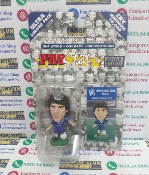 Tượng Gianfranco Zola 25 Chelsea 2001 2002 2003 home corinthian PRO512
