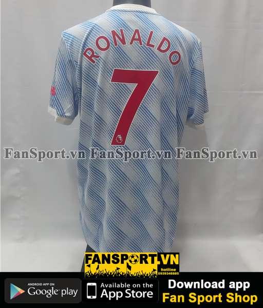 Áo Ronaldo 7 Manchester United 2021 2022 away shirt authentic GM4622