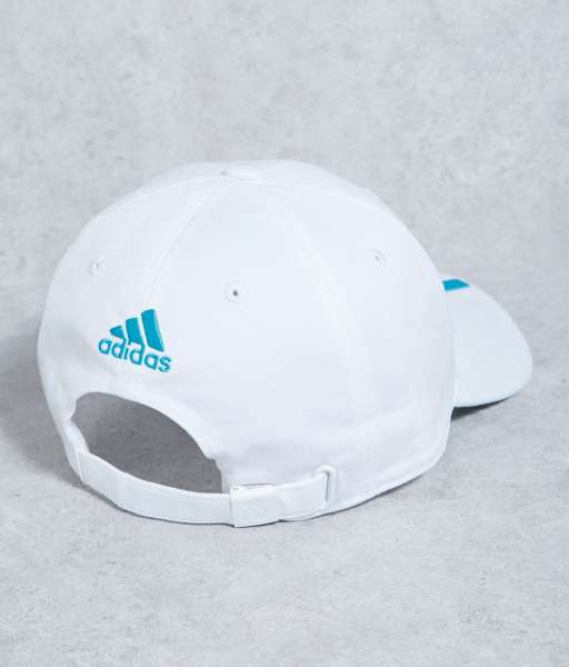 Nón Real Madrid 2017 2018 home white cap Adidas BR7157 BNWT adult hat