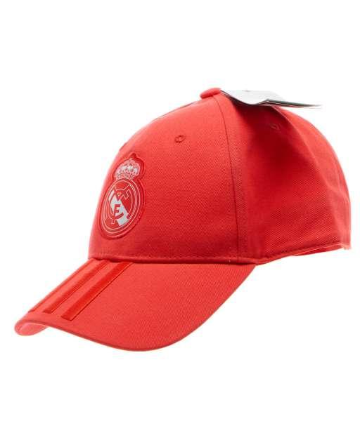Nón Real Madrid 2018 2019 third red cap Adidas CZ6101 BNWT adult hat